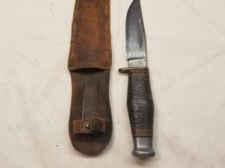 J. U. James & Sons fixed blade