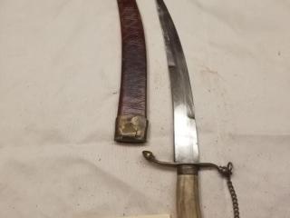 Vintage Bone handle dagger