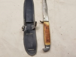 Ateo 18 marked fixed blade