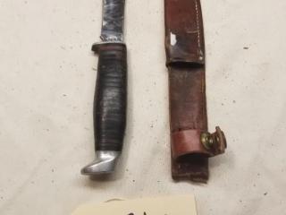 Case XX 366 Fixed blade