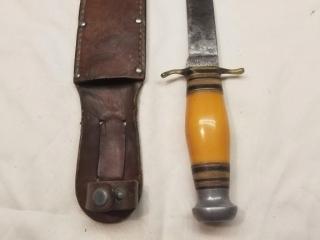 Ward Mooler Quality fixed blade knife