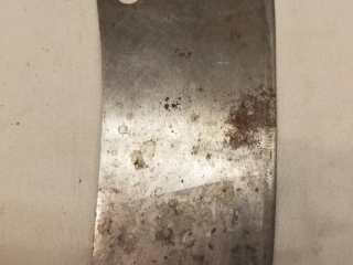 Vintage small meat cleaver