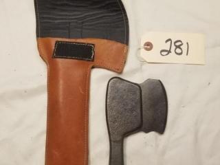Vintage USMC clicking hatchet