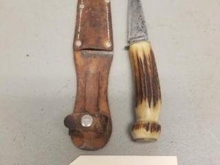 Remington marked fixed blade