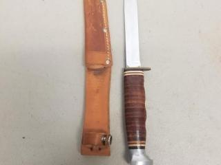 Kabar marked fixed blade knife with Sheath