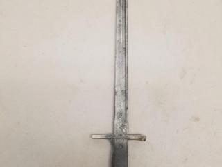 Large Japanese marked bayonet