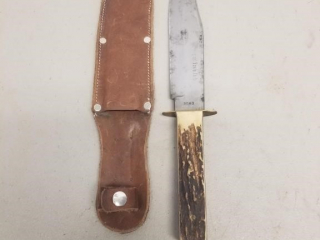 Largo Romo marked original Bowie Knife.