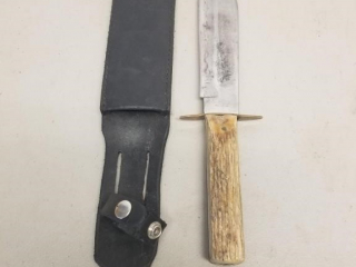 Large German Romo Bowie knife