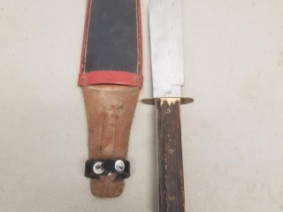 Large German Pic marked Bowie knife