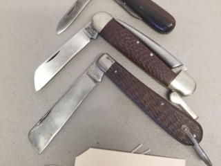 Vintage Camillus and Winchester knives