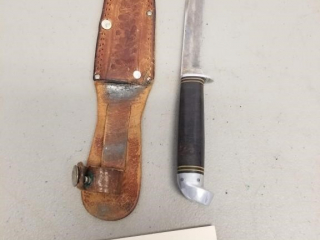 Western Boulder, Colo Fixed Blade