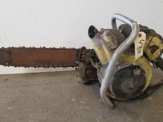 Clinton Model D55 1000 Chainsaw