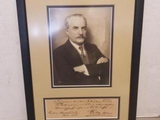 1924 Signed Portrait of Gentleman
