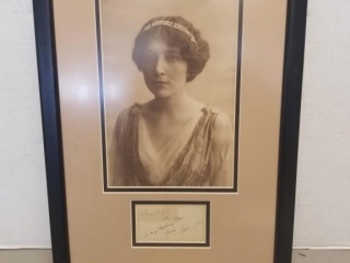 1912 Signed Portrait of Lady