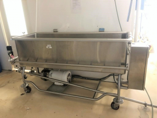 Vat parts washer w/Baldor motor