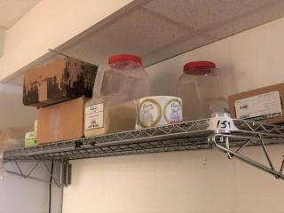 Wall mount shelf