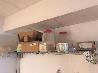 Items on # 263 shelf (Shelf not included)