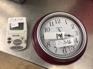 Taylor digital timer & clock
