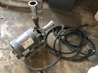 Used pump w/Dayton motor