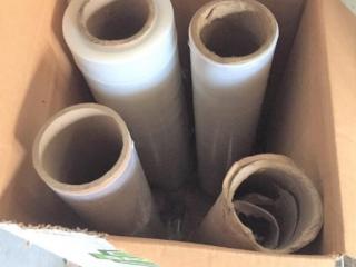 Partial rolls shrink wrap