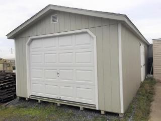 14 x 30 Storage Barn with Overhead door
