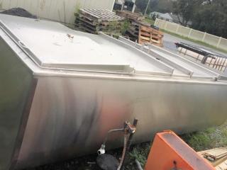 Sunset bulk milk tank/ice chiller