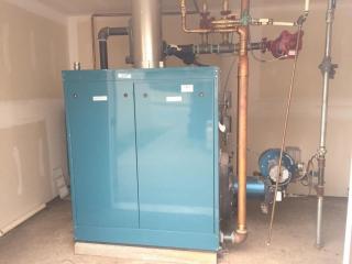 Burnham commercial boiler model V9A / V11