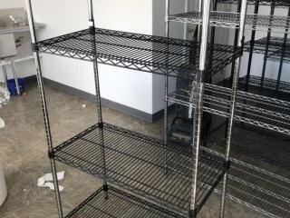 3 tier metro rack