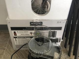 Waring 3.5 qt food processor