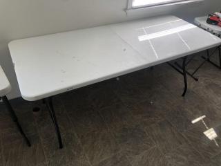 6' folding Costco table