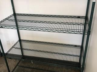 4 Tier metro rack