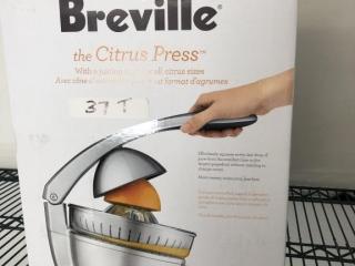 Breville citrus press