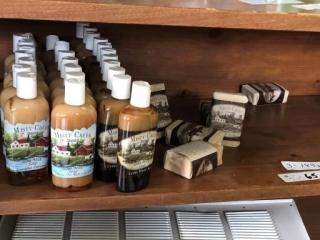 Misty creek bottle soaps