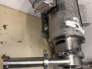 Milk pump w/motor