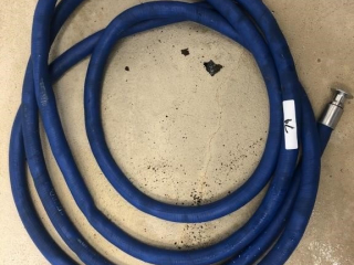 Milk hose w/hanger