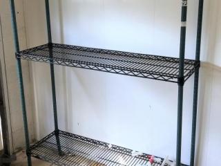 2 tier metro rack