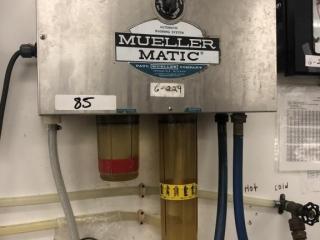 Mueller Matic washing system & Bulk tank washer