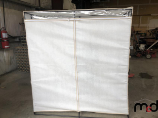 Foldable Closet With Hangers and Garment Bag UNRESERVED