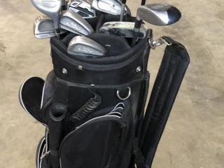 Bennington Golf Bag With Clubs, Golf Balls UNRESERVED