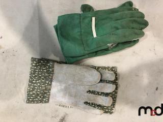 Trimmer, Gloves, Shovels, Unused Brass Hose Repair Kit, Unused Brass Hose Joiner, Dog Leash Holder, Unused Boiler Drain Tops 1/2