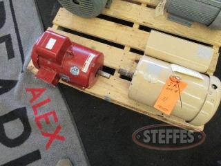 (1) Baldor motor, 5 hp., 1 phase, rebuilt,_9.JPG