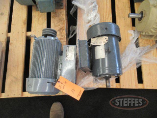(1) Marathon motor, 5 hp., 1 phase, rebuilt, _1.JPG