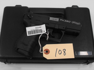 (R) Walther PK380 380 Auto Pistol