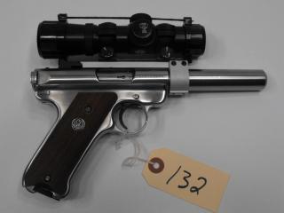 (R) Ruger MKII Target 22 LR Pistol