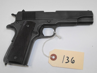 (CR) Remington Rand M1911A1 45 Auto Pistol