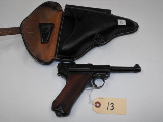 (CR) German 1940 Luger 9mm Pistol