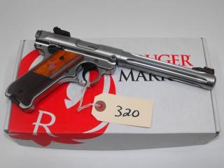 (R) Ruger MK IV Hunter 22 LR pistol