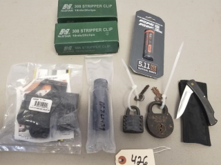 AR PARTS, 308 STRIPPER CLIPS AND MORE