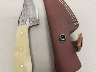 HANDMADE DAMASCUS FIXED BLADE KNIFE