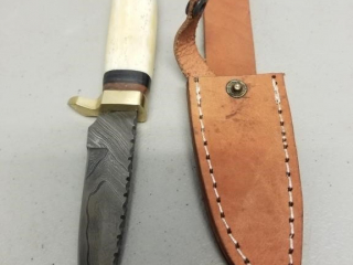 HANDMADE DAMASCUS FIXED BLADE